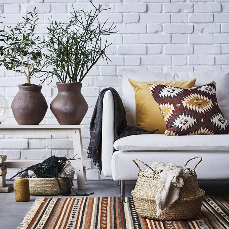 Cojines De Casa.Tendencias Decoracion Textiles En Clave Boho Para Tu Casa