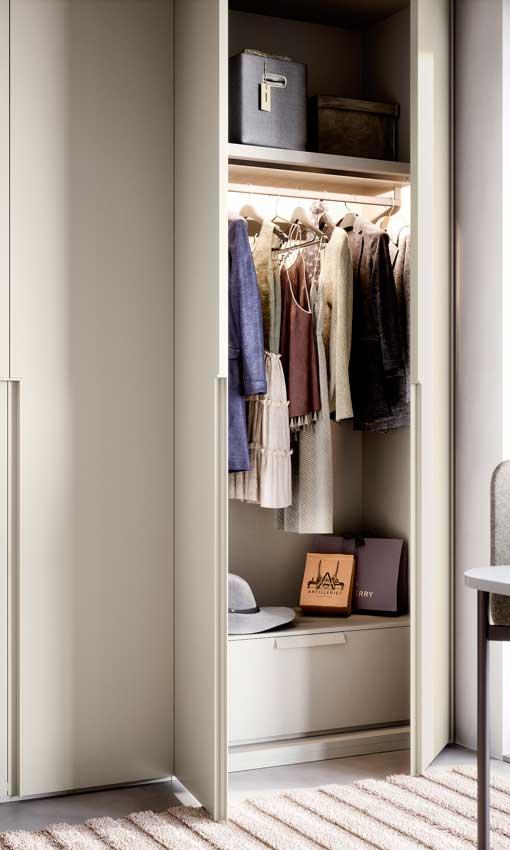 El armario ideal 7. Cuelga todo lo que puedas
