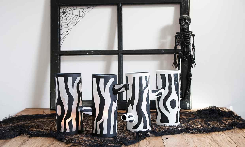 Ideas originales para la iluminación en Halloween