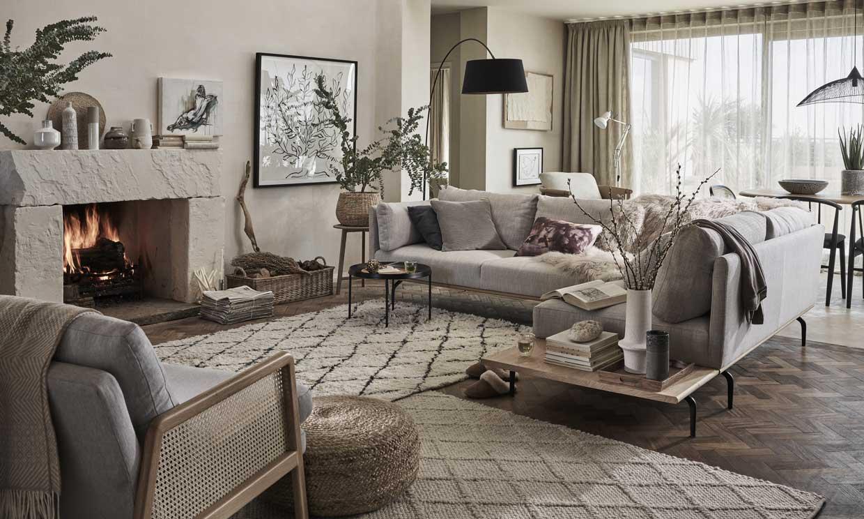 Colores 'cocooning' para hacer de tu salón el mejor lugar del mundo