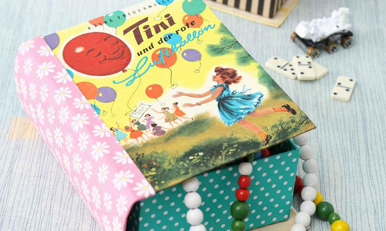¡No tires tus viejos libros! Conviértelos en preciosas cajas decorativas