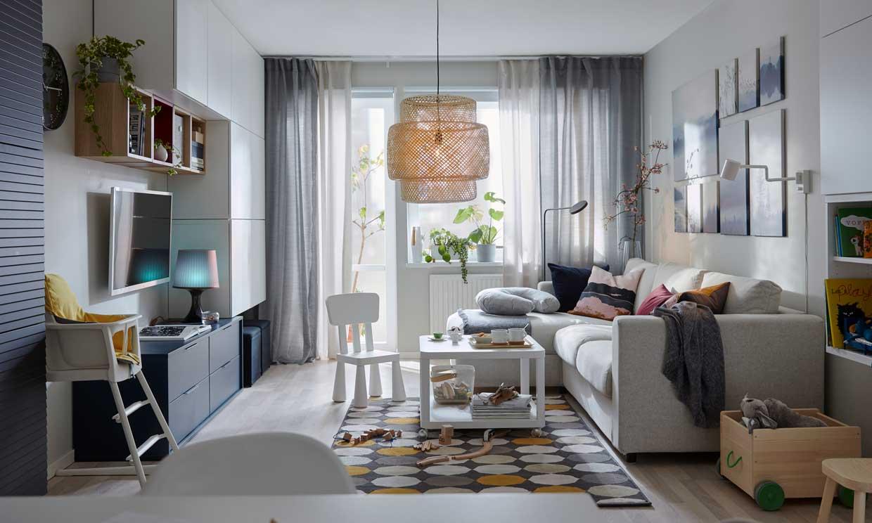 ¿Sabes cuál es el mejor sofá para un salón pequeño? ¡Nosotros, sí!