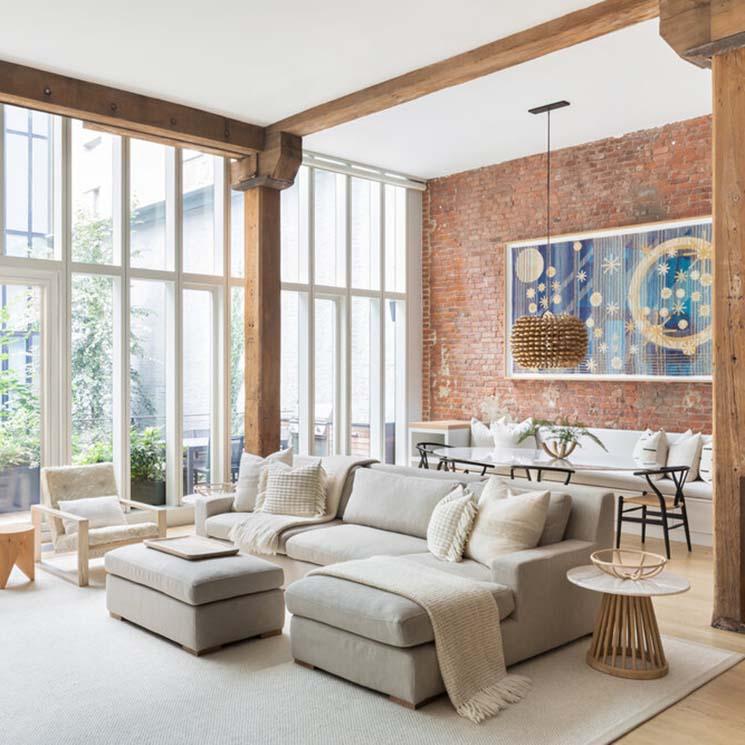 Decoración De Interiores Vivir En Un Loft También Es Para
