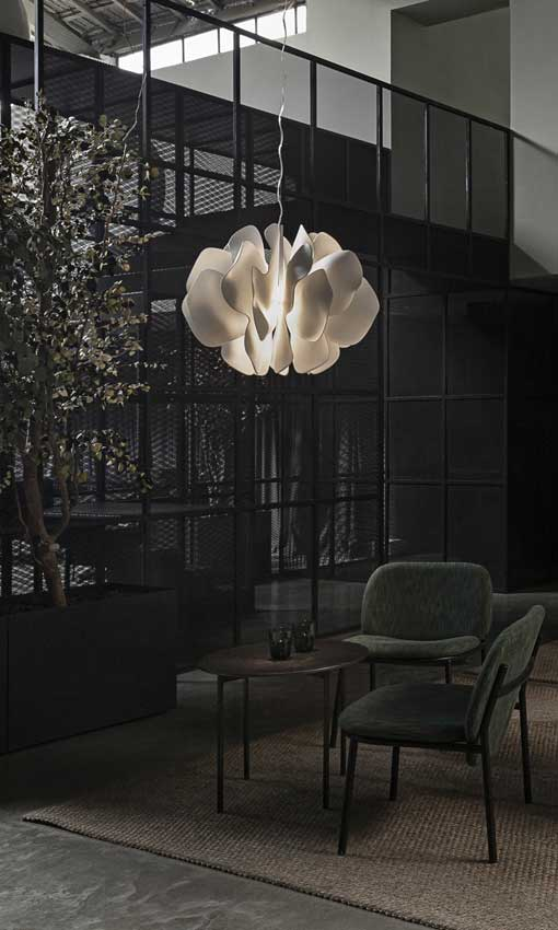 Tendencias decoración 2020 10. Lámparas que son obras de arte