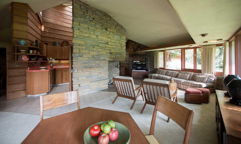 ¿Qué tal unas vacaciones en una casa diseñada por Frank Lloyd Wright? ¡Haz las maletas!