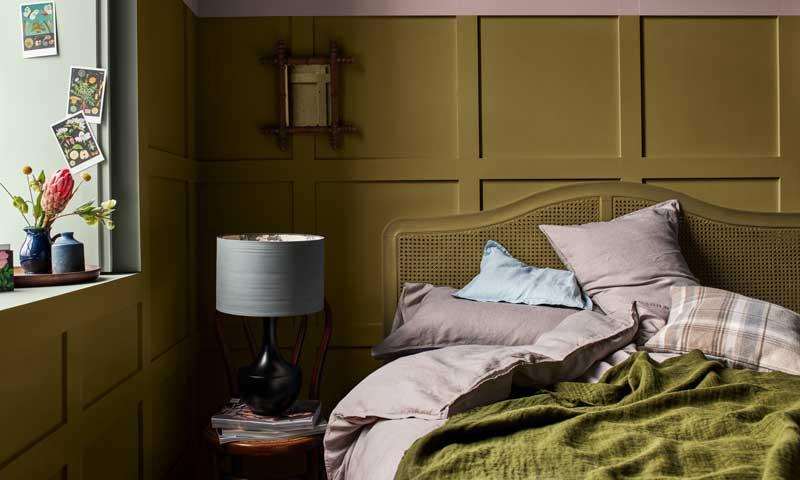 Renovar el dormitorio 2. Pinta en un color distinto
