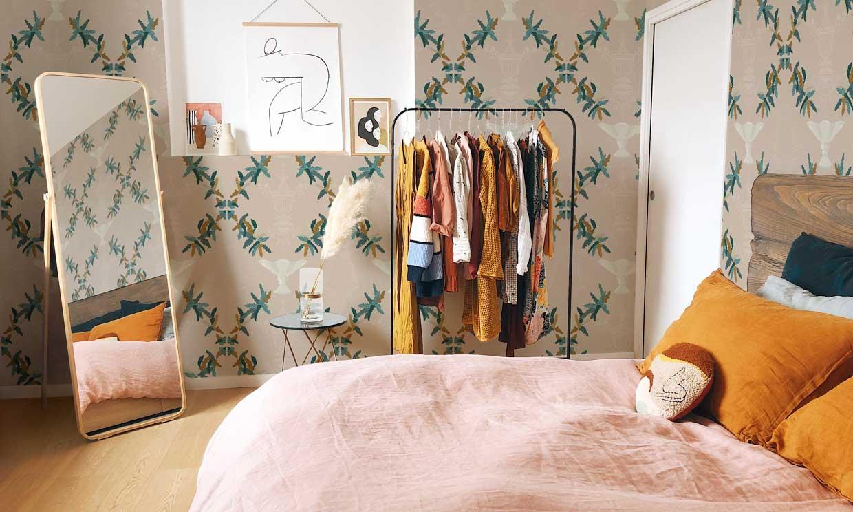 12 ideas para hacer crecer los metros (y el estilo) de un dormitorio pequeño