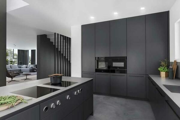 Las Cocinas En Color Negro Son Tendencia Foto 1
