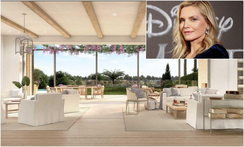 Entramos en la espectacular mansión que se ha comprado Michelle Pfeiffer