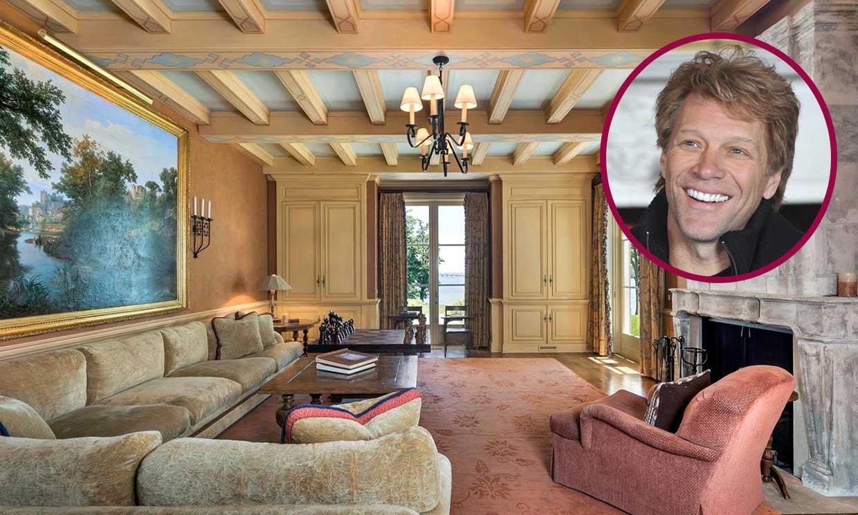 La increíble mansión de Nueva Jersey que ha puesto en venta Bon Jovi