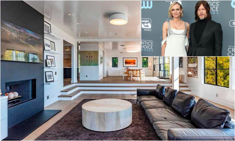 La nueva mansión de Norman Reedus y Diane Kruger es un castillo moderno