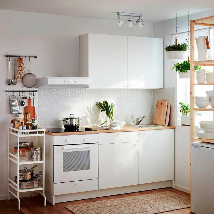 Cocinas Pequenas Ideas Para Mantener El Orden Foto 1