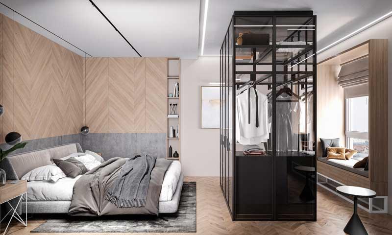 Habitacion Matrimonial Moderna Con Tv