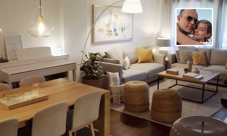 Así es el interior de la casa de Laura Escanes y Risto Mejide