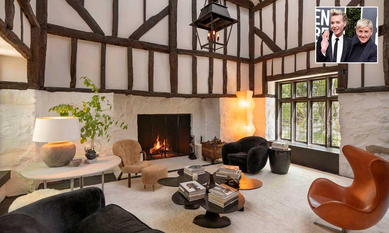 Entramos en la casa de cuento que Ellen DeGeneres y Portia de Rossi venden en California