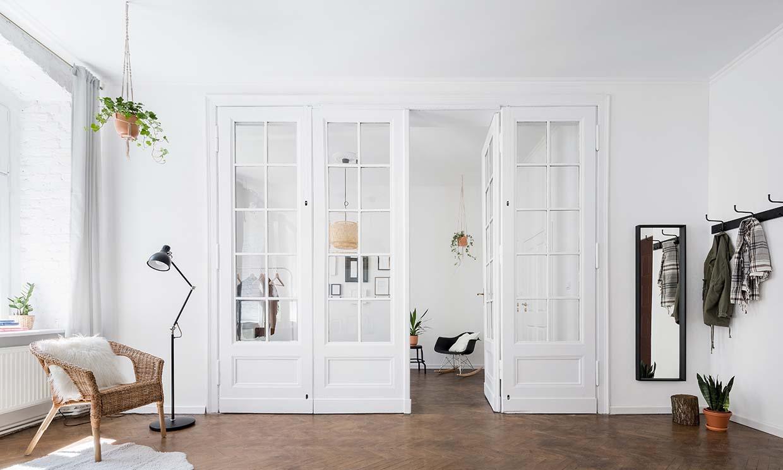 Atrévete a pintar las puertas de interior y renueva tu casa por completo