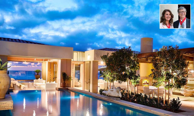 Así es la nueva casa de verano de Bill y Melinda Gates en California