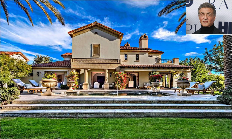 Sylvester Stallone pone a la venta su espectacular refugio de California