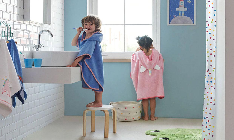 Cómo planificar y decorar un cuarto de baño pensado para los niños