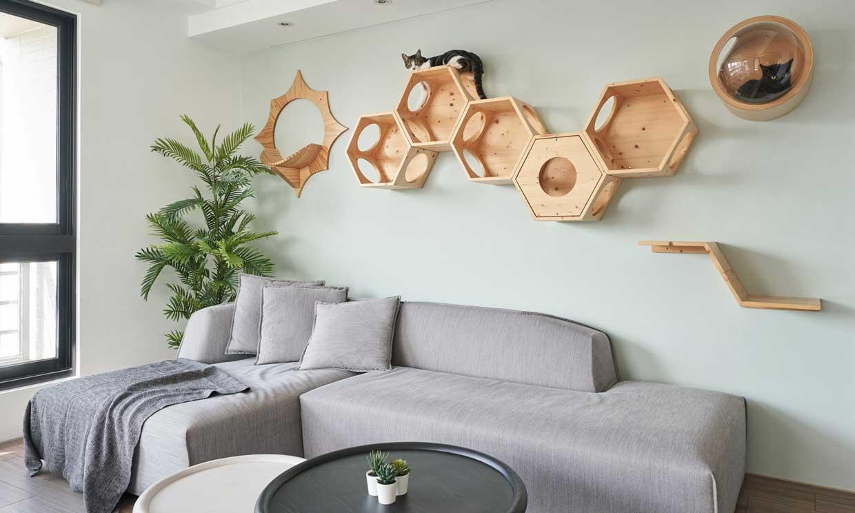 Muebles y accesorios para tener una casa 'pet friendly'