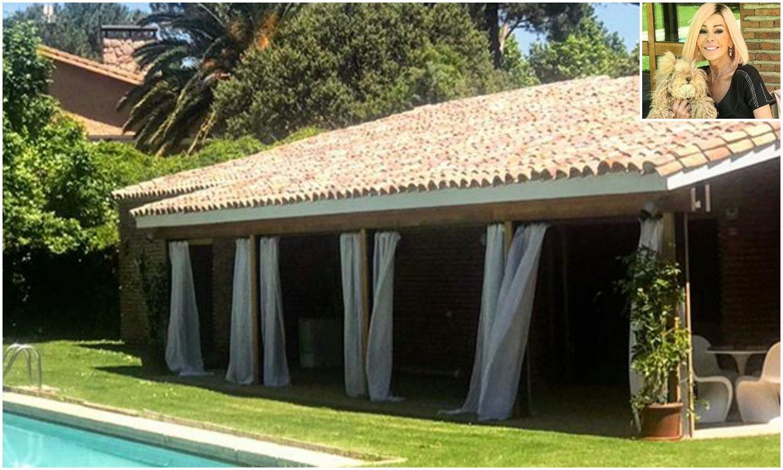La espectacular nueva casa de Bibiana Fernández a las afueras de Madrid