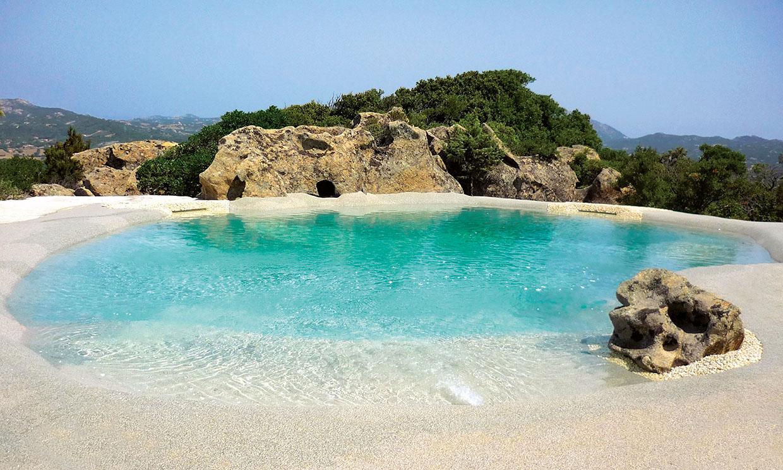 Piscinas de arena: ¿Quieres recrear la playa en tu propia casa?