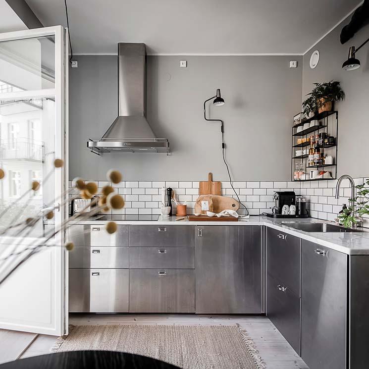 Cocinas sin muebles altos: ¿cómo organizarlas y decorarlas? - Foto 1