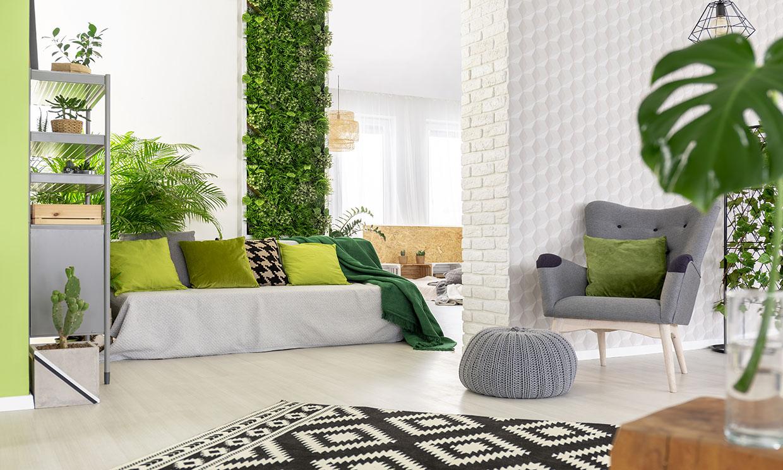 Claves para crear un jardín vertical en la terraza o en el interior