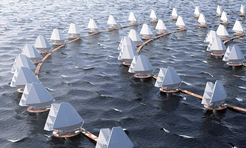 ¿Así serán las ciudades costeras del futuro?