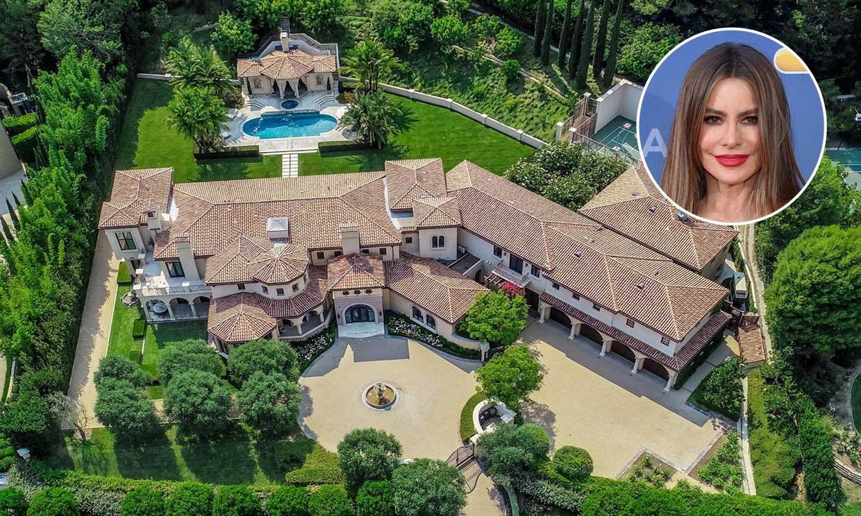 La nueva y lujosa mansión de Sofía Vergara en Los Angeles