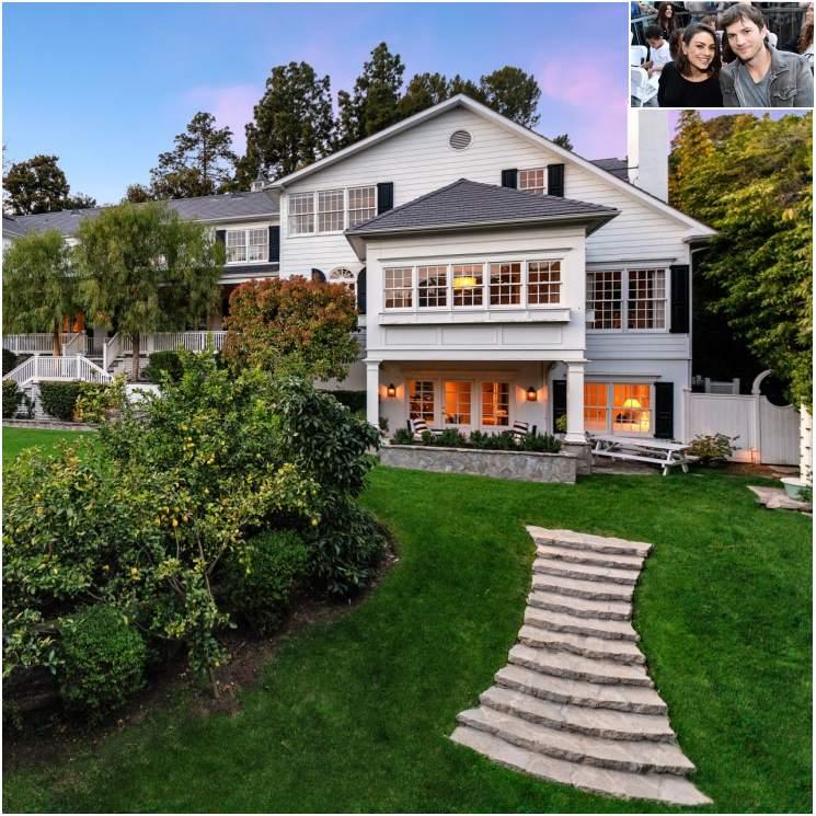 Ashton Kutcher y Mila Kunis venden su mansión de Beverly Hills
