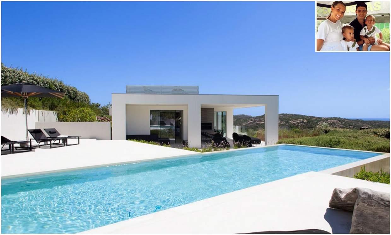 La exclusiva villa donde Álvaro Morata y Alice Campello han disfrutado de sus vacaciones