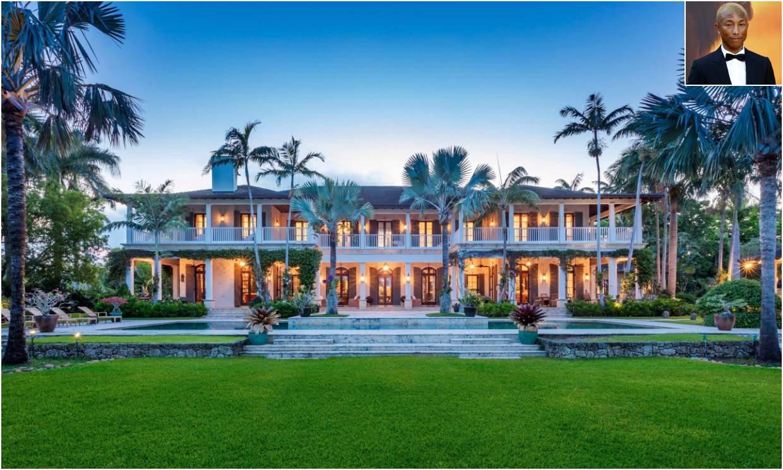 Recorremos la espectacular mansión de Pharrell Williams en Miami