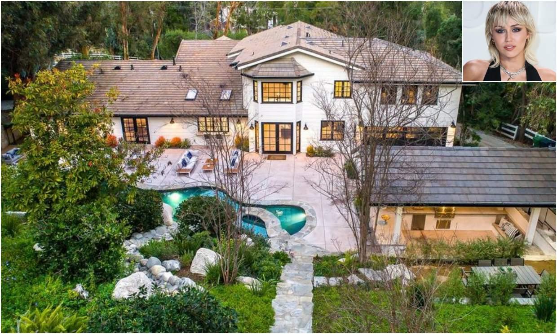 Una mansión moderna y muy 'chic': así es la nueva casa de Miley Cyrus
