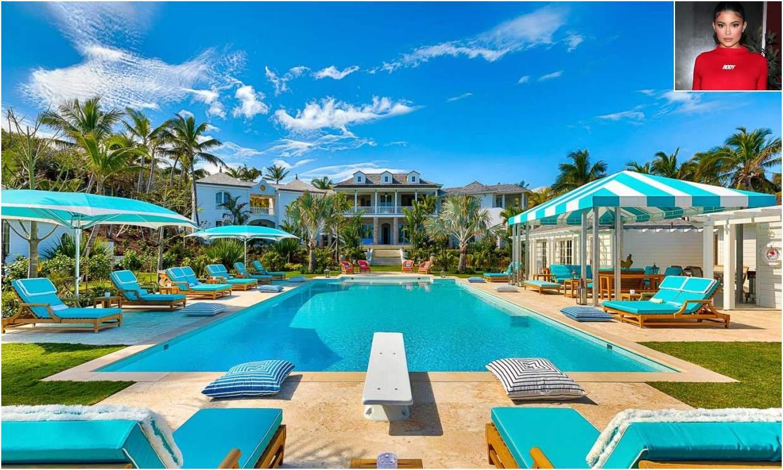 Así es la espectacular villa en las Bahamas donde ha veraneado Kylie Jenner con sus amigas