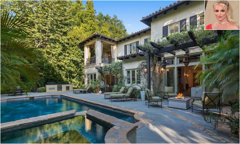 La antigua mansión de Britney Spears en Beverly Hills sale a la venta