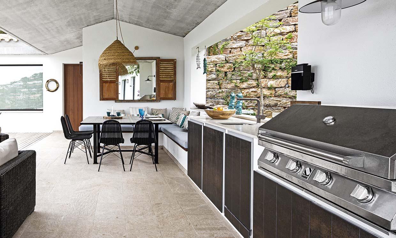 ¿Qué necesitas para montar un comedor con cocina al aire libre?