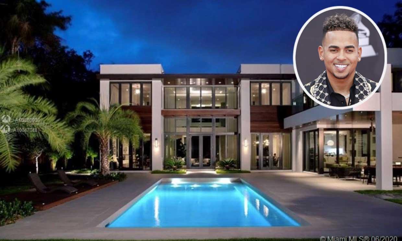 Entramos en la nueva mansión que Ozuna ha comprado en Miami