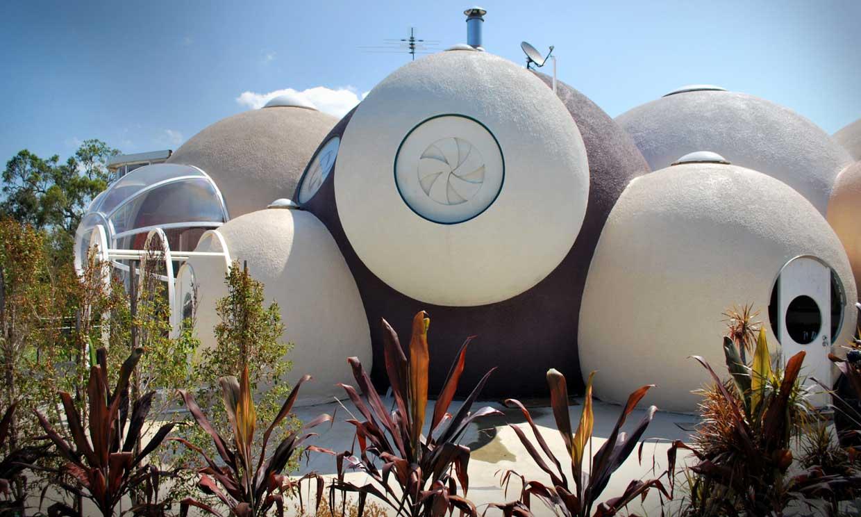 Una asombrosa 'casa burbuja' en el corazón de Australia