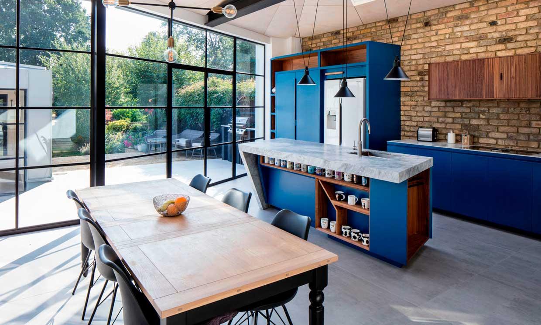 Proyecto: ganar una cocina con un cerramiento tipo invernadero