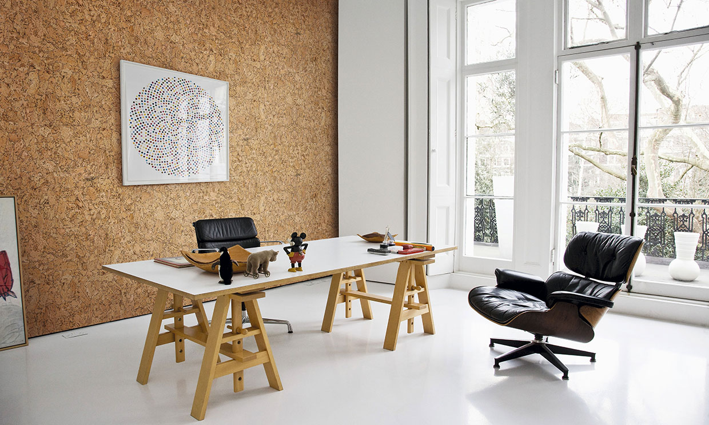 Cómo revestir una pared de corcho para aislar y decorar cualquier espacio