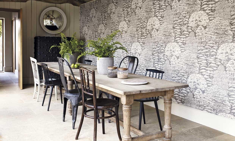 ¿Qué pared es la adecuada para decorar con papel pintado?