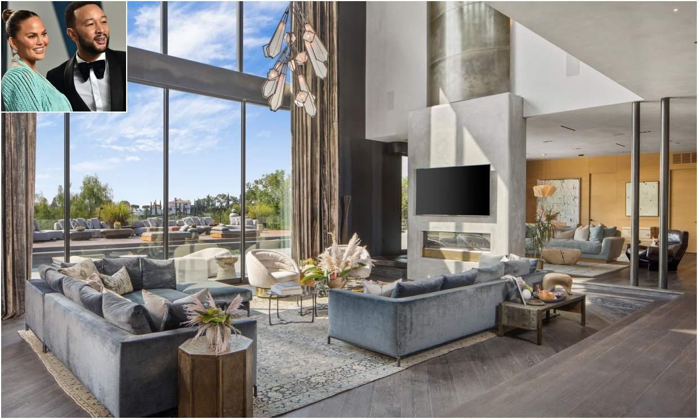 Así es la mansión que John Legend y Chrissy Teigen han vendido en Beverly Hills