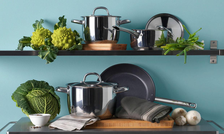 Descubre cómo limpiar tu menaje de cocina: sartenes, ollas y cazuelas impecables