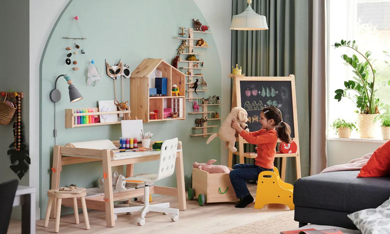 Las mejores soluciones para ordenar el material escolar en el cuarto de los niños