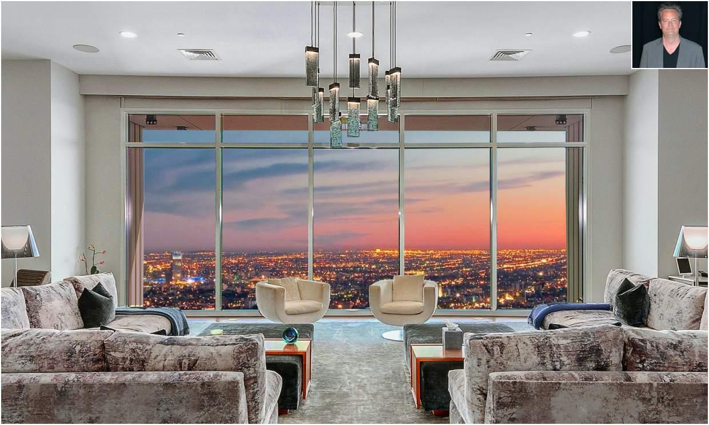 Matthew Perry pone a la venta su 'mansión en las alturas' de Los Ángeles