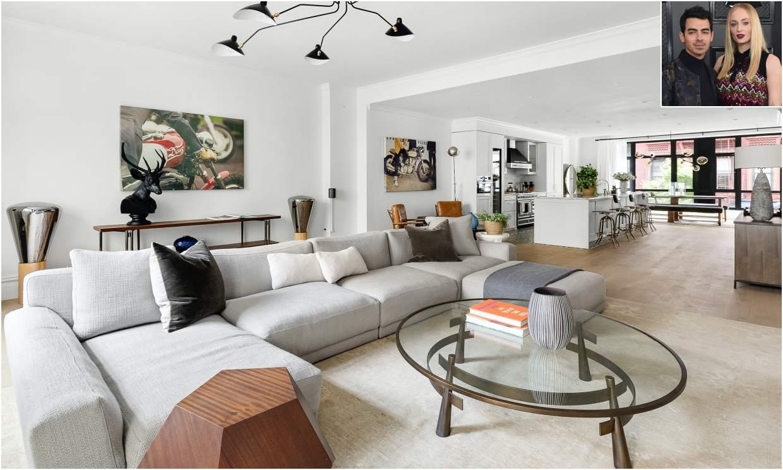 Sophie Turner y Joe Jonas ponen a la venta su elegante piso de Nueva York