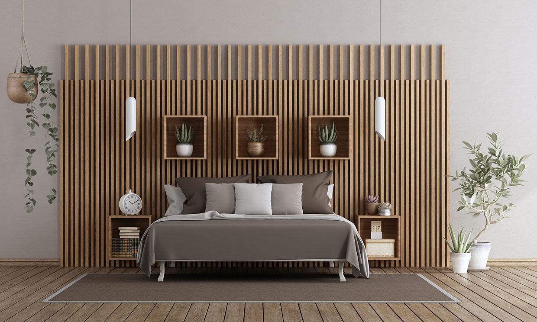 Todas las claves para revestir las paredes con paneles de madera