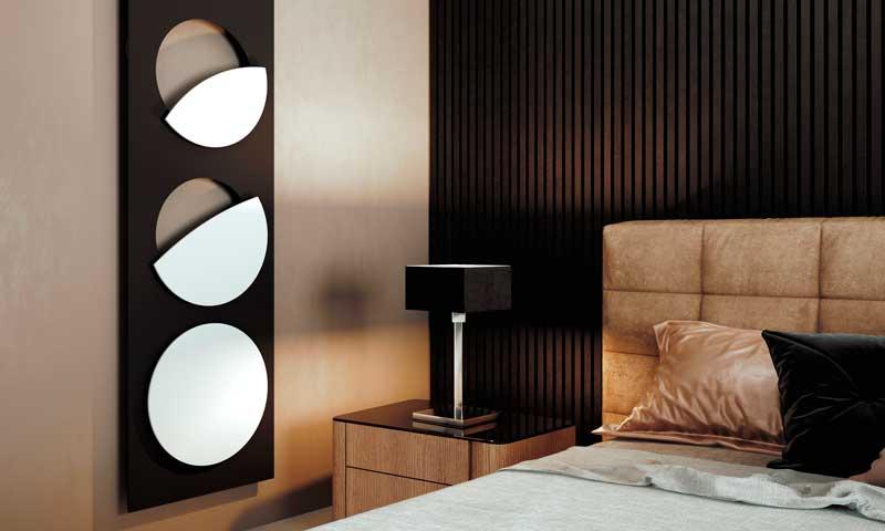 Design radiadores rosetas einzelrosettenverschiedene tamaños y colores