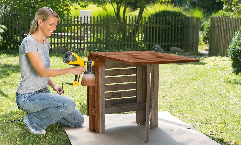 Aprende a pintar tus muebles con pistola y redecora tu casa
